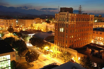 Asheville Night shot - resized